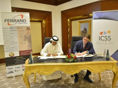 (L-R)_Founder_and_Chairman_of_the_ICSS,_Mohammed_Hanzab_and_Philippe_Gerard_Maurice_Ferrand,_Founder_and_CEO,_Ferrand_Qatar